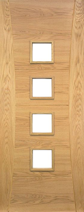 door oak hp18g unglazed