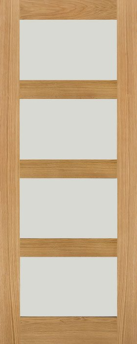door oak hp1g frosted
