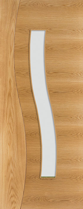 door oak hp24g clear bevelled