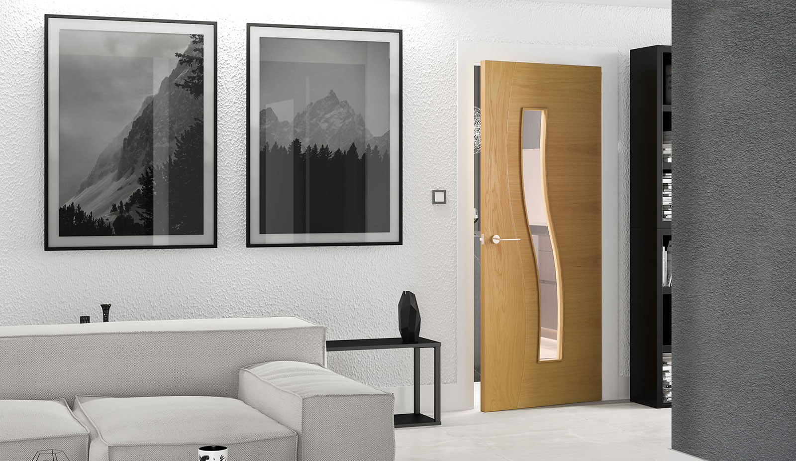 door oak hp24g clear