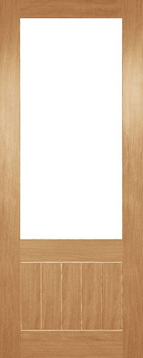 door oak hp38g unglazed