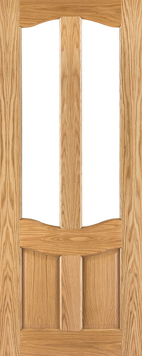 door oak nm20g unglazed