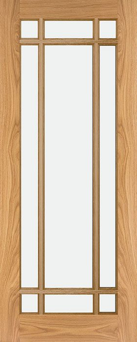 door oak nm5g bevelled