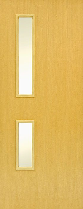 door ash GC05 Veneered 2 open fd30