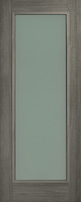 door grey Daiken 1lite opal laminate