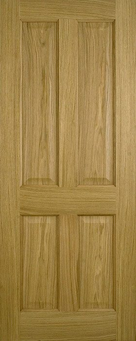 door oak contract 4 panel