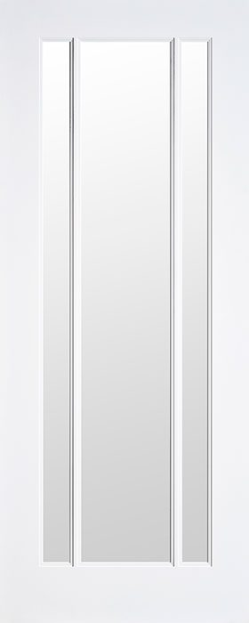 door primed Tahiti 3 lite clear glass