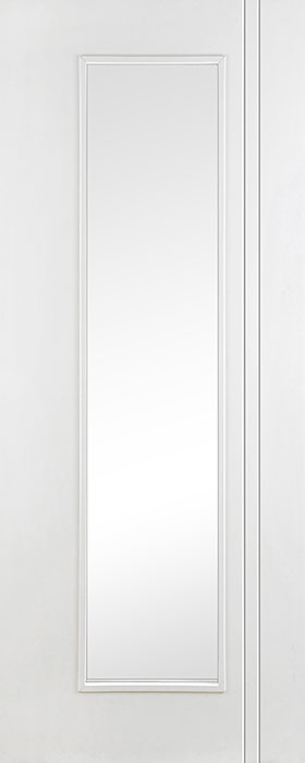door primed contract Unicorn clear glass