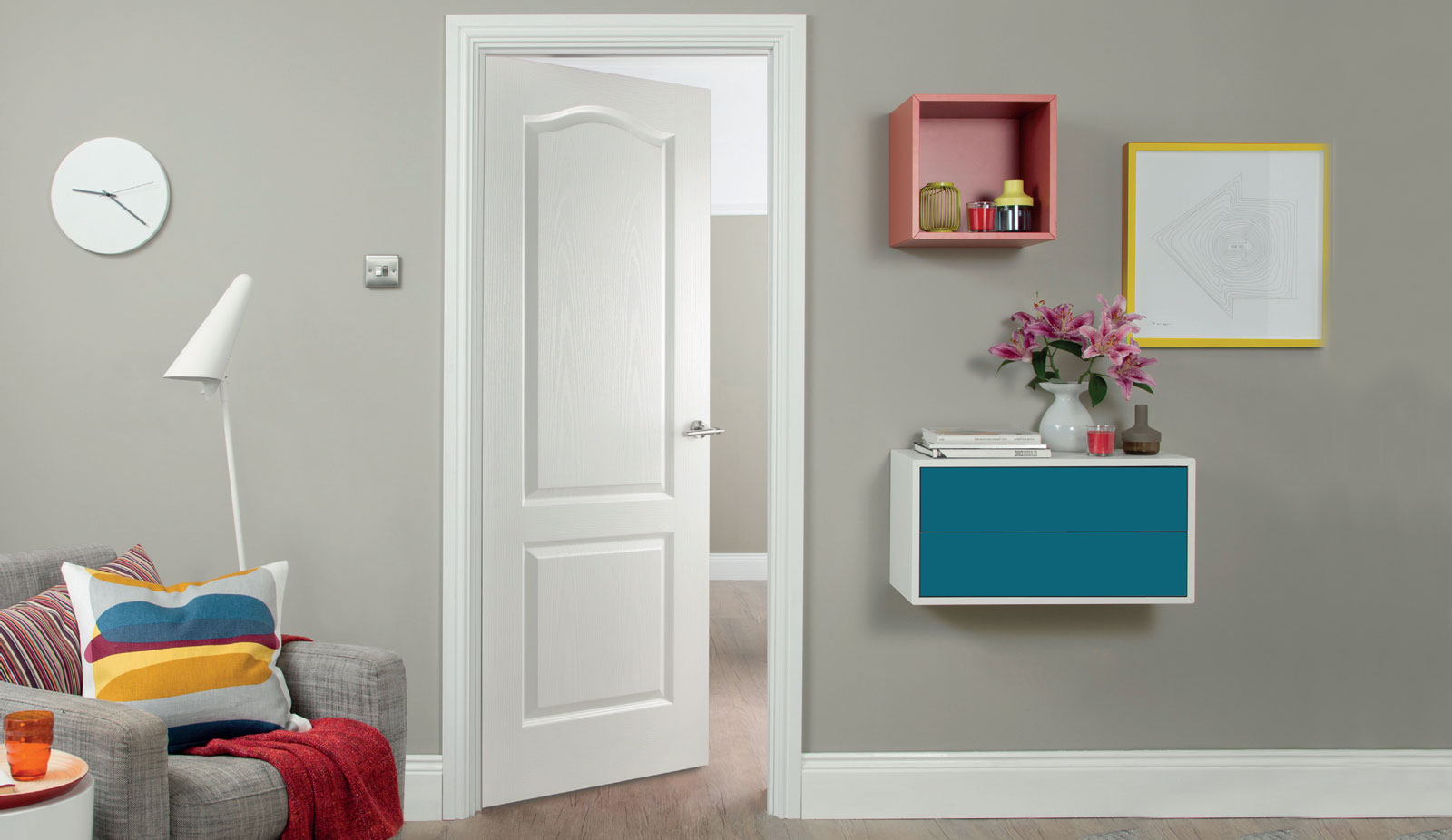 door regency Classique woodgrain fd30 room