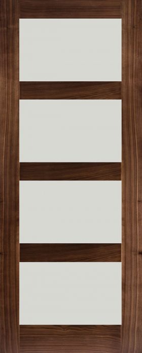 door walnut hp1g frosted