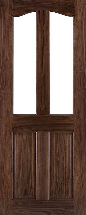 door walnut nm2g unglazed