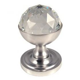 Door Knobs 2018 Faceted Crystal Knob