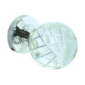 Door Knobs JH1190 Palma Glass Knob