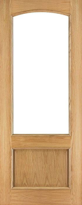 door oak rb7g unglazed