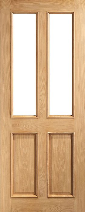 door oak vr4g unglazed