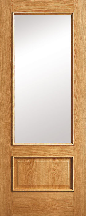 door oak 214 rlv clear glass