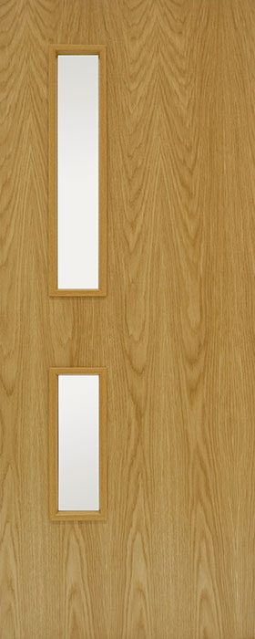 door oak GC05 Veneered 2 open fd30