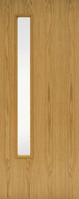 door oak GC06 Veneered 1 open fd30 fd60
