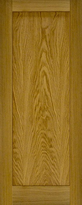 door oak contract 1 panel