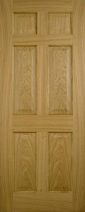 door oak contract 6 panel