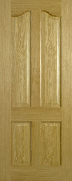 door oak contract Richmond 4 panel