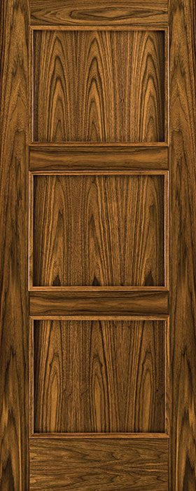 door walnut 3212 flat panel