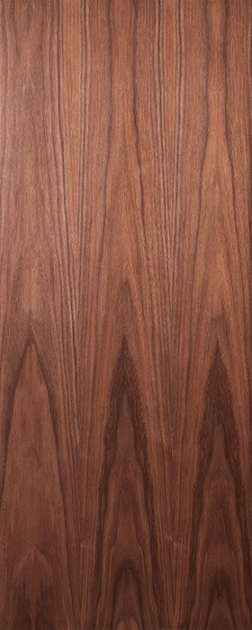 door walnut flush