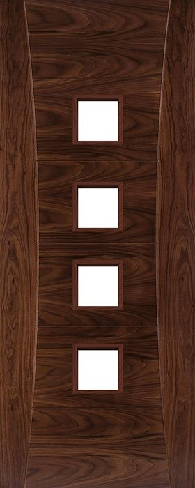 door walnut hp18g unglazed