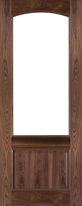 door walnut rb7g unglazed