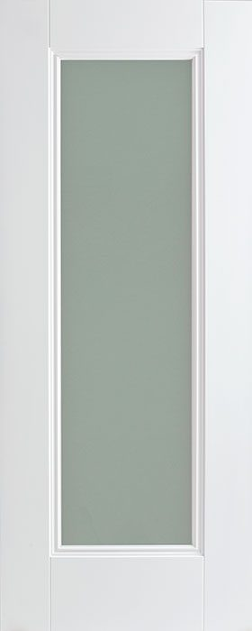 door white Amsterdam 1lite opal laminate