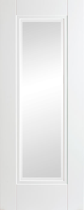 door white Eindhoven 1 lite frosted glass