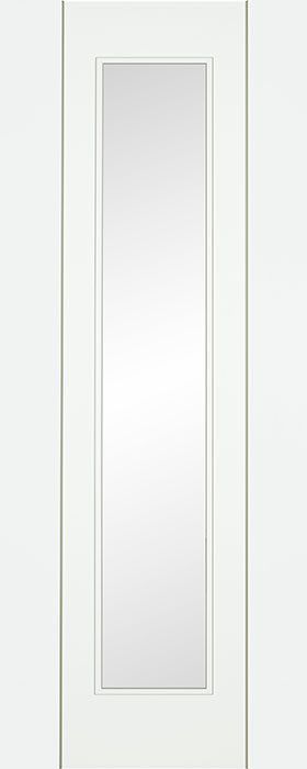 door white Norma clear glass
