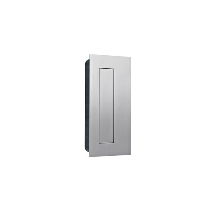 IN16400 Rectangular Flush Pull With Cover