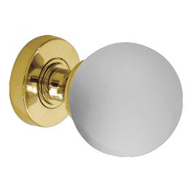 Door Knobs JH5204 Frosted Ball Glass Knob